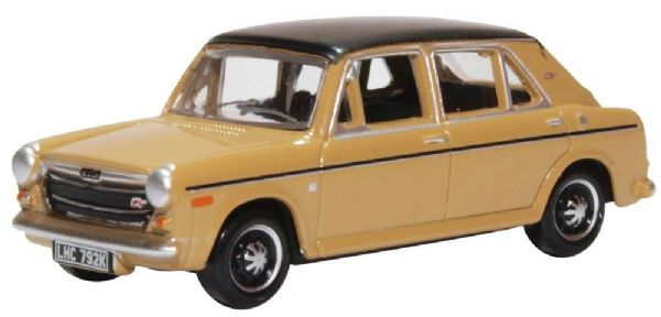 Oxford 76AUS006 AUS006 1/76 OO BLMC Austin 1300 Harvest Gold Black Vinyl Roof